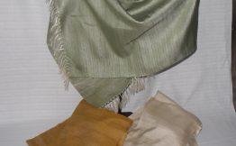 草木染手織ストール